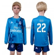 Real Madrid Enfant 2017-18 Isco 22 Maillot Third Manche Longue Pas Cher..
