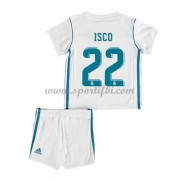 Real Madrid Enfant 2017-18 Isco 22 Maillot Domicile Pas Cher..