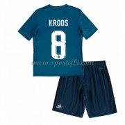 Real Madrid Enfant 2017-18 Toni Kroos 8 Maillot Third Pas Cher..