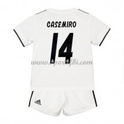 Real Madrid enfant 2018-19 Carlos Casemiro 14 maillot domicile..