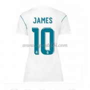 Maillot De Foot Real Madrid Femme 2017-18 James Rodriguez 10 Maillot Domicile..